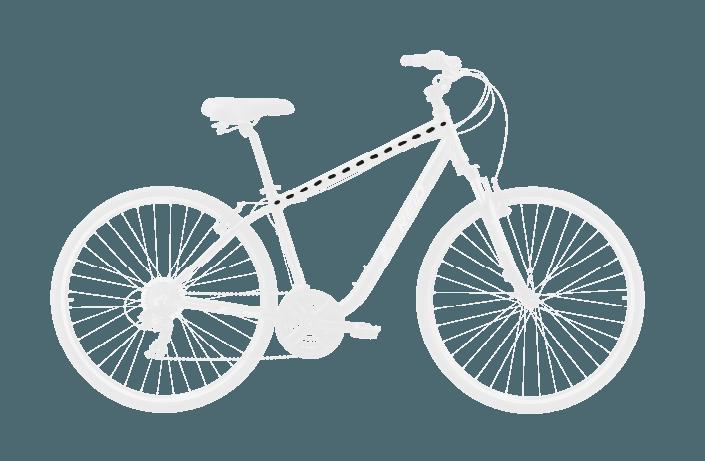 base bike TOP TUBE LENGTH 4 - Reid ® - Original City Bike
