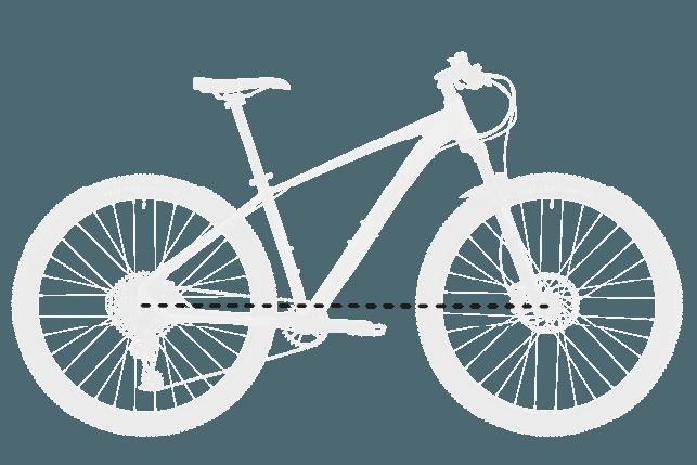 base bike WHEELBASE 2 - Reid ® - MTB Pro Disc Bike