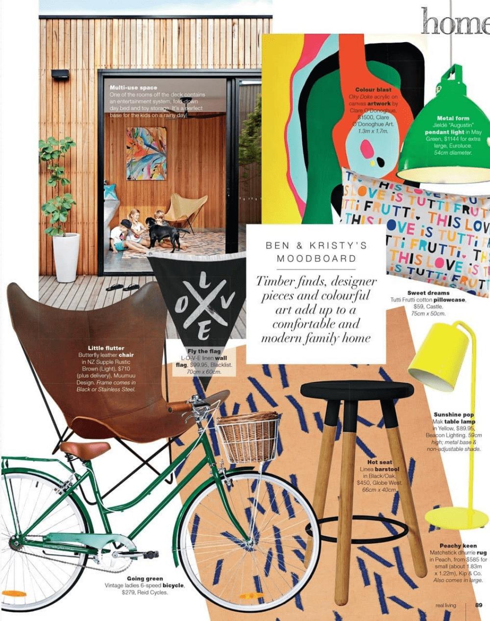 Reid in Home magazine