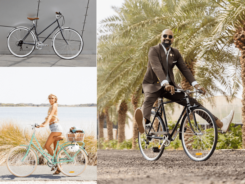 Vintage Cruisers - Reid ® - Reid Bike Types - The Overview