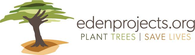 Eden.org RGB - Reid ® - Landmark achievement - 100,000 trees planted!