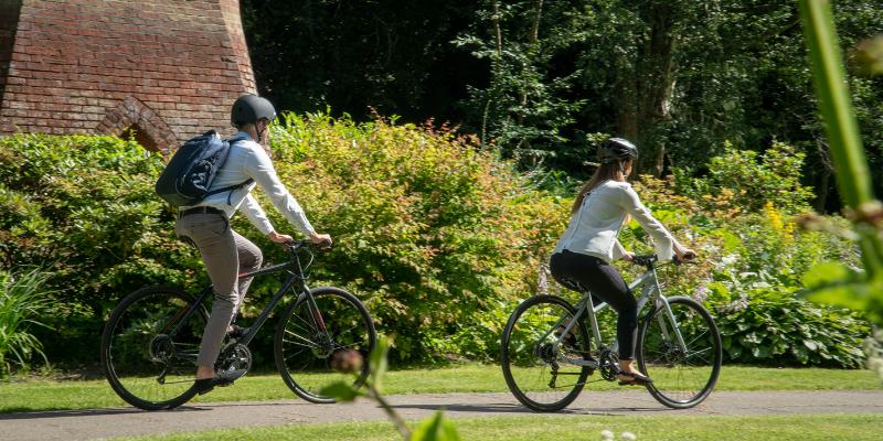 Car Free Day Single Image - Reid ® - World Car Free Day - Consider Cycling?
